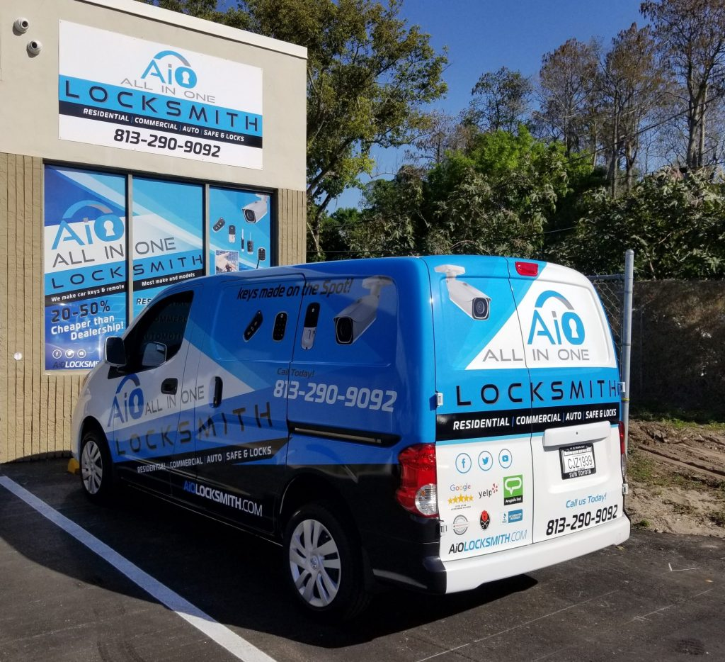 Automotive locksmith tampa