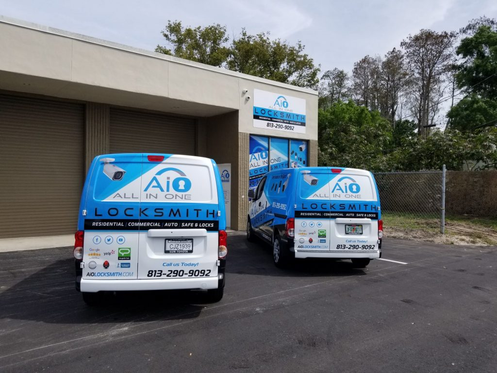 All-In-One Locksmith Locksmith Tampa store front
