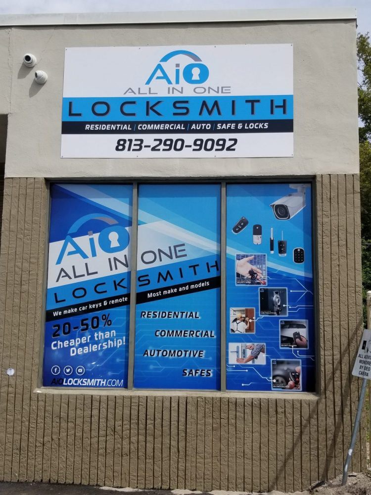 tampa locksmith store